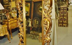 Big Gold Mirrors