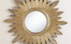 Large Sunburst Mirrors