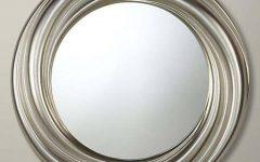 Round Silver Mirrors
