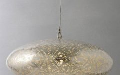 Punched Metal Pendant Lights