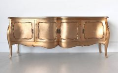 Modern and Stylish Gold Sideboards