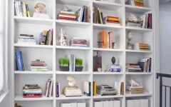 White Library Bookcase