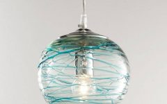 Aqua Pendant Light Fixtures