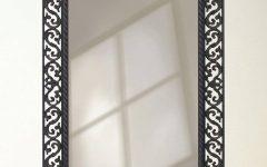Black Wrought Iron Mirrors