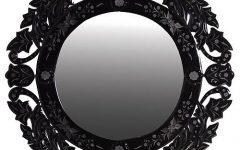 Black Venetian Mirrors