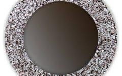 Round Mosaic Wall Mirrors