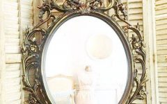 Gold Shabby Chic Mirrors
