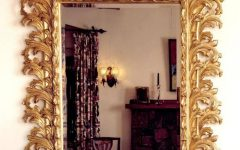 Gold Baroque Mirrors