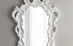 White Baroque Mirrors