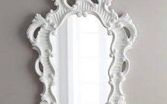 White Baroque Mirrors