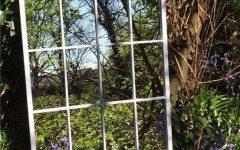 Metal Garden Mirrors