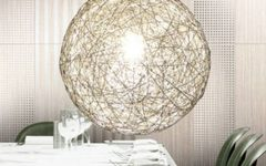 Wire Ball Light Pendants