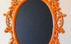 Orange Framed Wall Mirrors