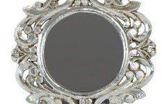 Small Silver Mirrors