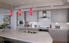 Red Kitchen Pendant Lights