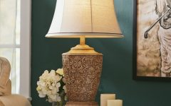 Teal Living Room Table Lamps