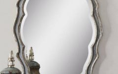 Silver Oval Wall Mirrors