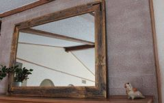 Large Rustic Wall Mirrors