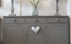 Dark Grey Sideboard