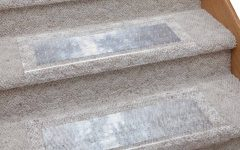 Clear Stair Tread Carpet Protectors