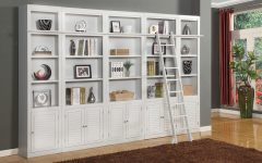 Library Bookcase Wall Unit