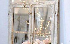 Shabby Chic Window Mirrors