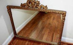Vintage Wood Mirrors