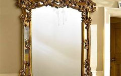 Large Ornate Gold Mirrors