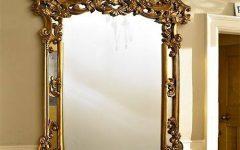 Gold Ornate Mirrors