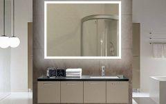 Backlit Bathroom Wall Mirrors