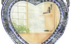 Venetian Heart Mirrors
