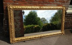 Large Antique Mirrors