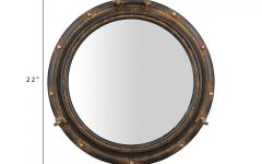 Alie Traditional Beveled Distressed Accent Mirrors