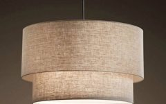 Fabric Pendant Lamps