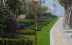 Outdoor Lanterns on Post