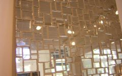 Stick on Wall Mirror Tiles