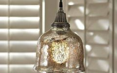 Serena Antique Mercury Glass Pendants