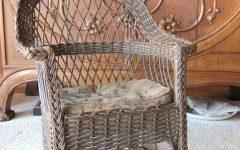 Antique Wicker Rocking Chairs