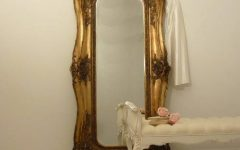 French Style Full Length Mirrors