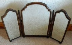 Antique Triple Mirrors