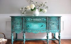Turquoise Sideboards