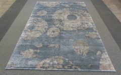 Wool and Silk Blend Area Rugs