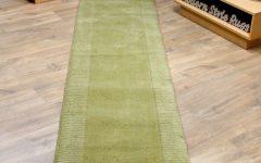 Green Carpet Runners Hallway