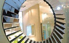 Round Art Deco Mirrors