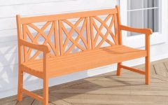 Avoca Wood Garden Benches