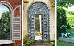 Outdoor Wall Mirrors