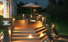 Modern Garden Low Voltage Deck Lighting