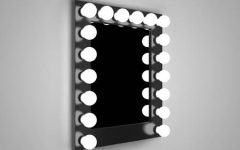 Wall Mirrors With Light Bulbs