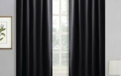 Thermal Rod Pocket Blackout Curtain Panel Pairs