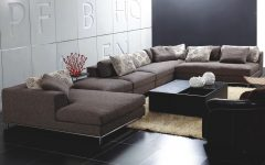Backless Sectional Sofa